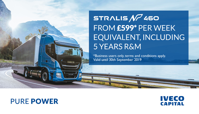 Stralis Natural Power Operating Lease