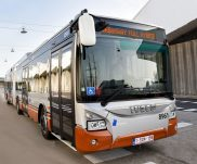 IVECO BUS and STIB-MIVB welcome the introduction of the first hybrid electric Urbanway buses from a total order of 141 vehicles