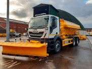 New 6x4 gritting lorry  to keep Doncaster's roads safe this winter
