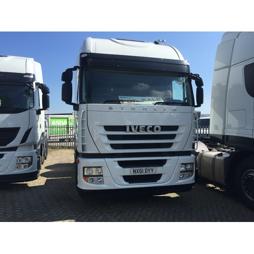 Iveco Stralis AS440S45TX/P Tractor Unit NX61 DYY