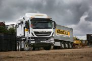 Brocks Haulage builds on 'image boosting' IVECO order with the UK's first Stralis X-Way 6×4 tractor unit