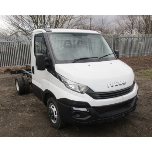 2019 (19) NEW IVECO DAILY 35C12 CHASSIS CAB SWB